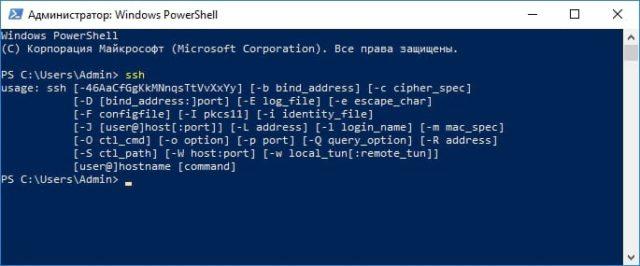 Как включить и использовать SSH-команды Windows 10