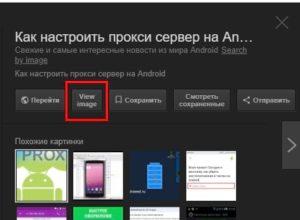 Как вернуть кнопку «Просмотр изображения» в поиск Google картинок
