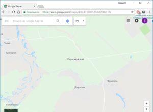 Как вручную установить местоположение в Google Chrome