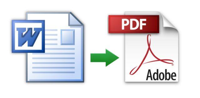 Как конвертировать документ Microsoft Word в PDF