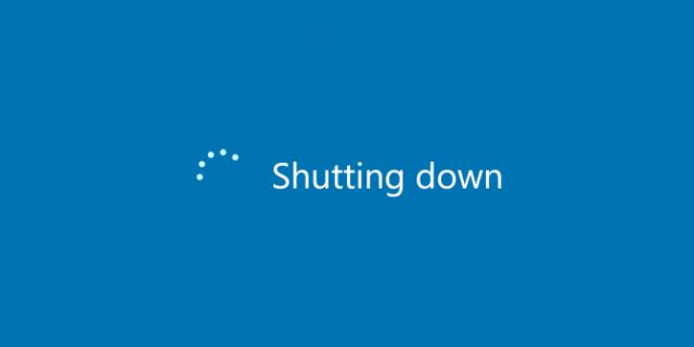 Что происходит, когда Вы завершаете работу Windows