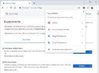 Как включить новое меню расширений Google Chrome