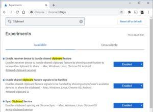 Как включить и использовать общий доступ к буферу обмена в Google Chrome