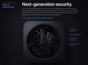 Что делает «Чип безопасности» Apple T2 в Mac