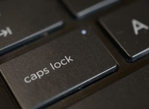 История появления Caps Lock